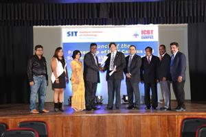 SIT signs Memorandum of Understanding with the International College of Business and Technology (ICBT), Colombo