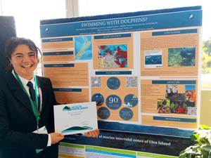 Year 1 student awarded Best Overall Poster at NZCS Conference