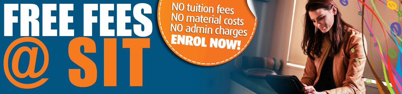 Free Fees on selected SIT2LRN programmes – Hurry, limited time offer!