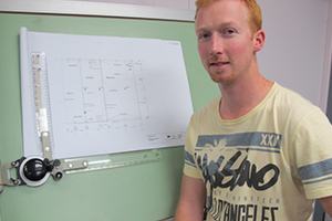 Chris Clifford - SIT Architectural Technology diploma graduate