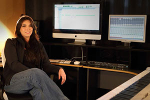 Claire Benedict - double degree, Audio Production & Contemporary Music