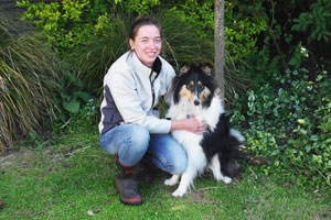 Diploma in Veterinary Nursing (Rural Animal Technician) graduate Daniella Whitaker