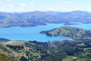 Banks Peninsula, New Zealand