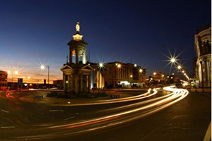 Invercargill city by night