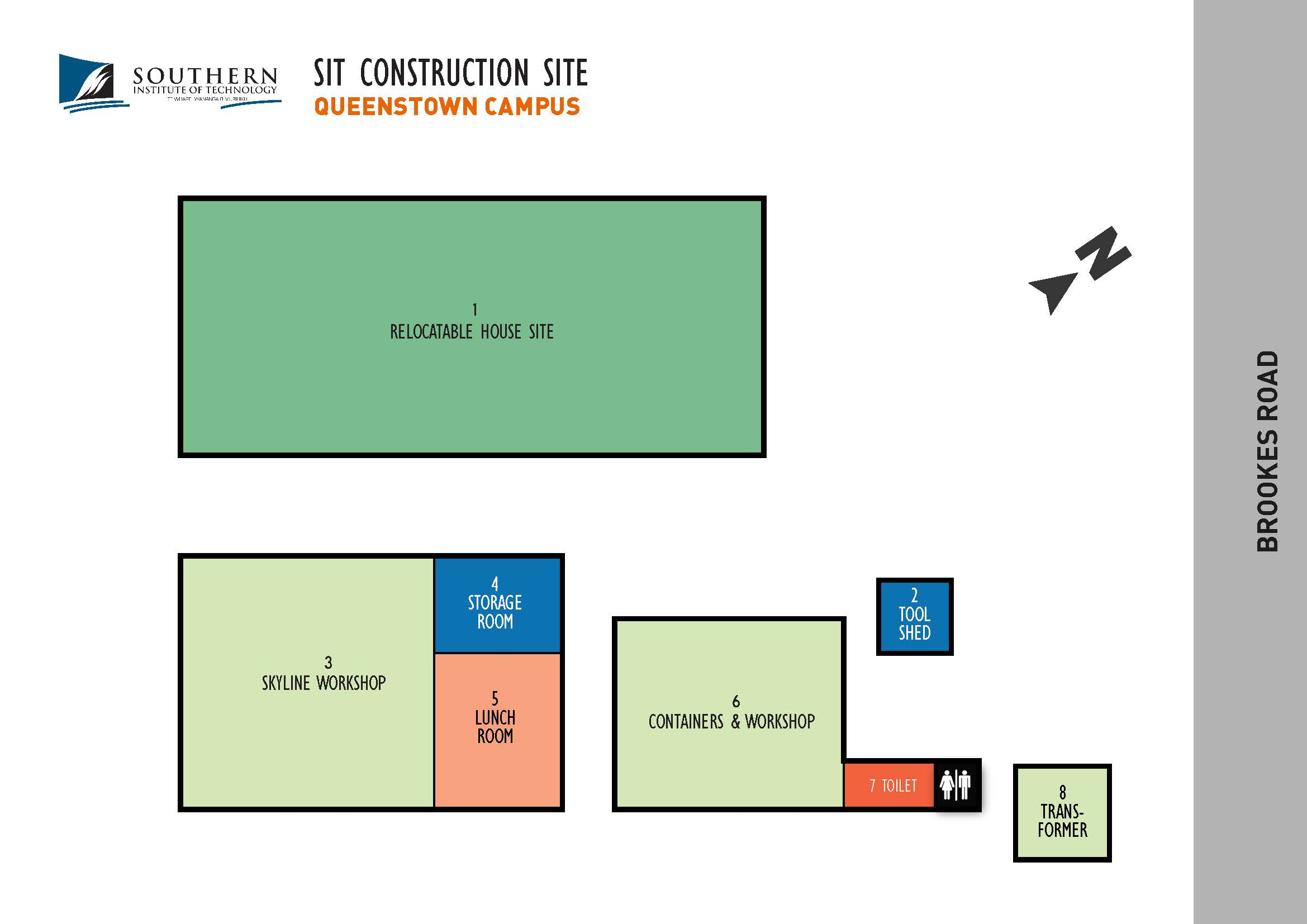 SIT Queenstown Construction Map