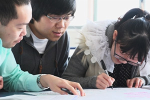 English language students at SIT
